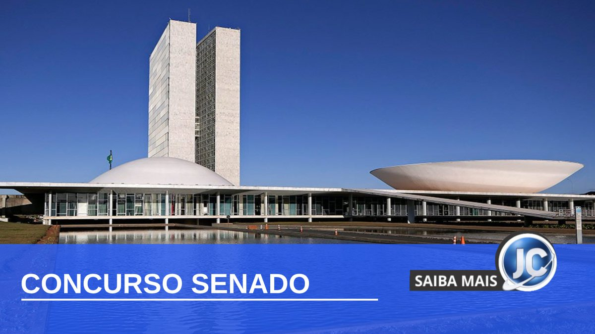 Concurso Senado Federal: sede do planalto nacional