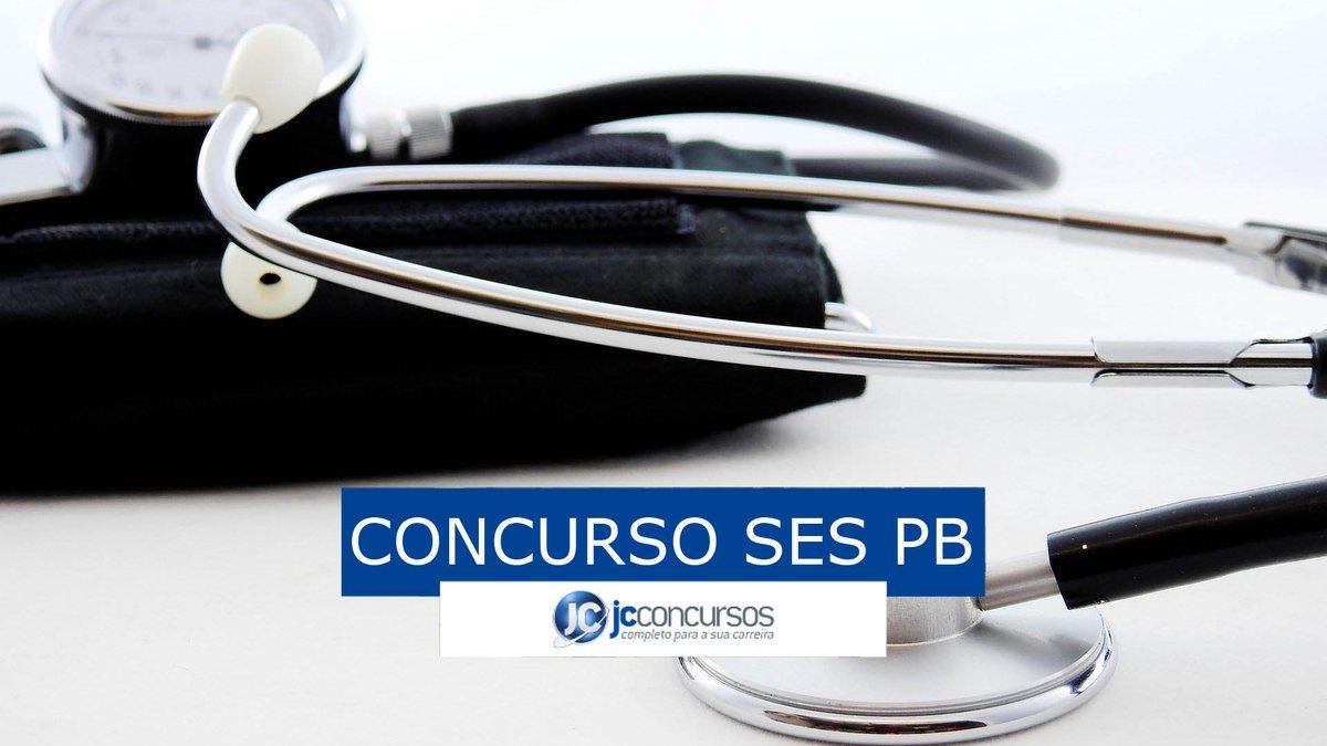 Concurso SES PB: vagas na saúde