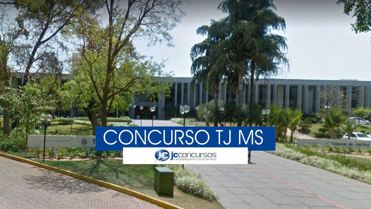 Concurso TJ MS - sede do Tribunal de Justiça de Mato Grosso do Sul
