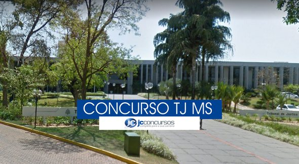 Concurso TJ MS - sede do Tribunal de Justiça de Mato Grosso do Sul - Google Street View