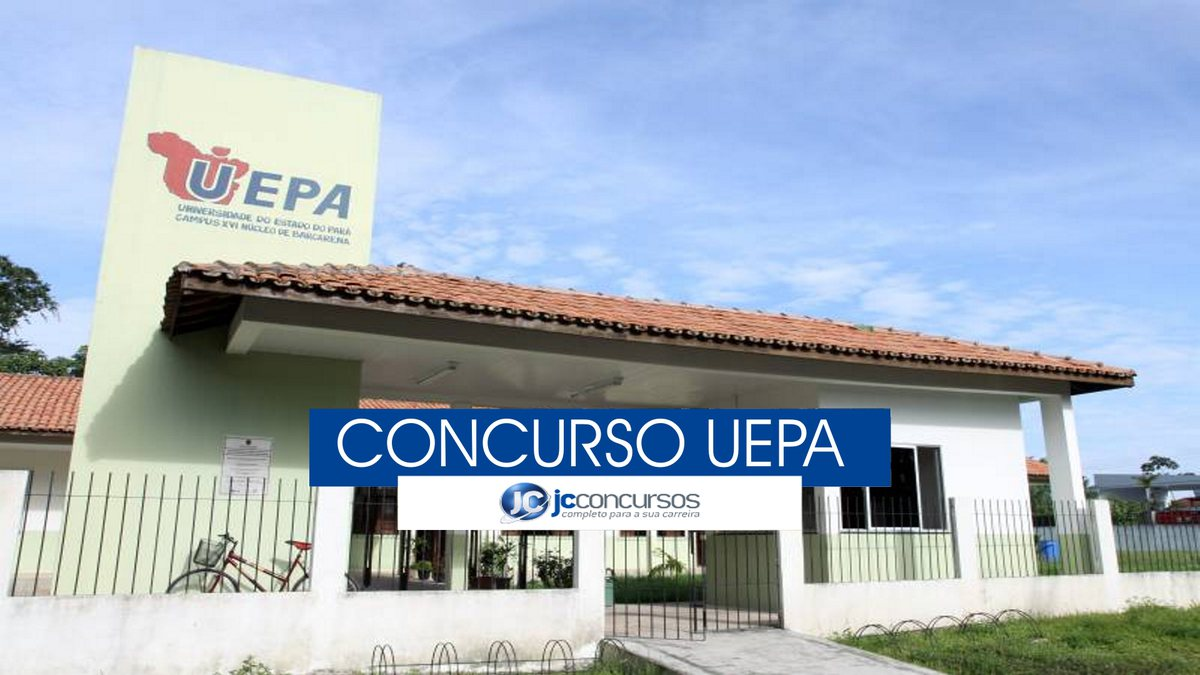 Concurso Uepa - campus da Universidade do Estado do Pará