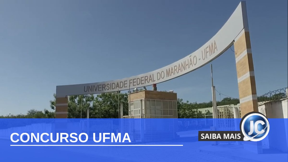 Concurso UFMA - campus da Universidade Federal do Maranhão