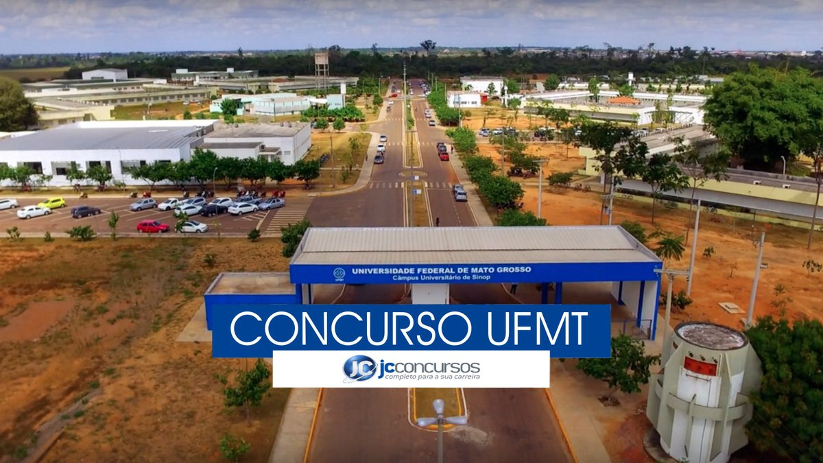 Concurso UFMT - vista aérea do campus Sinop