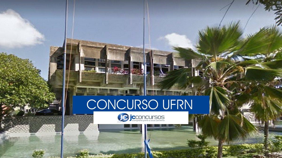 Concurso UFRN - reitoria da universidade