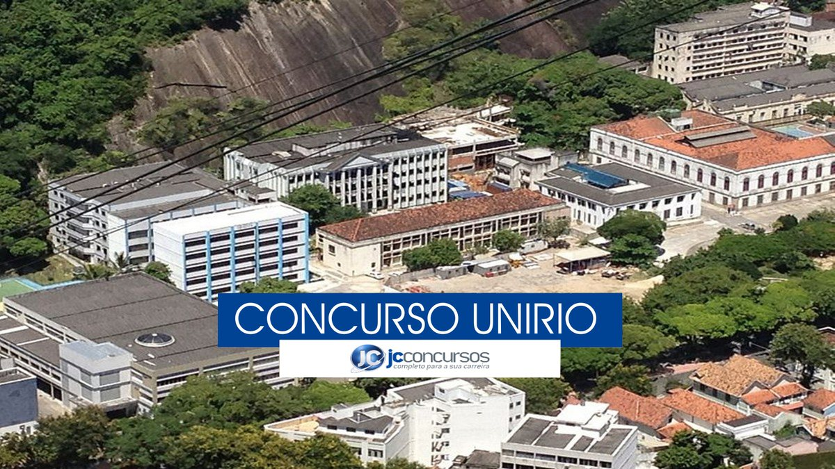 Concurso UniRio - Vista aérea do campus Urca