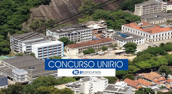 Concurso UniRio - Vista aérea do campus Urca - Wikimedia Commons