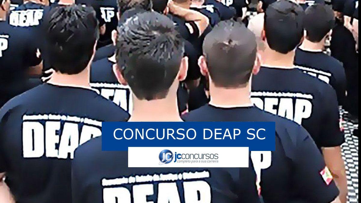 Concurso Deap SC - agentes penitenciários