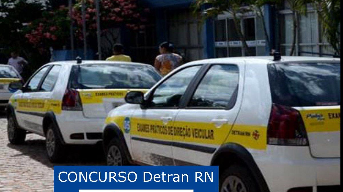 Concurso Detran RN: viaturas do Detran RN