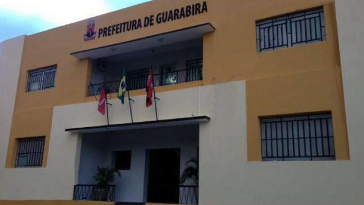 Fachada da Prefeitura de Guarabira, no interior paraibano