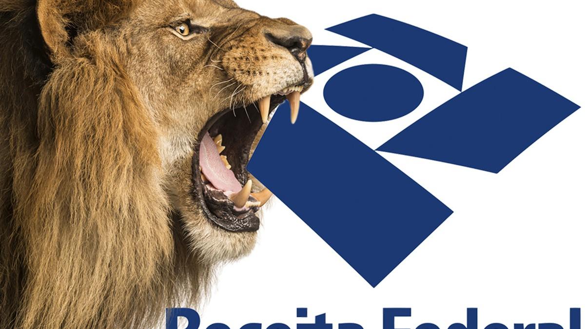 leão da Receita Federal do Brasil