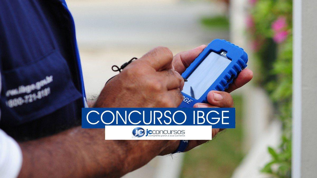 Concurso IBGE : recenseador do IBGE
