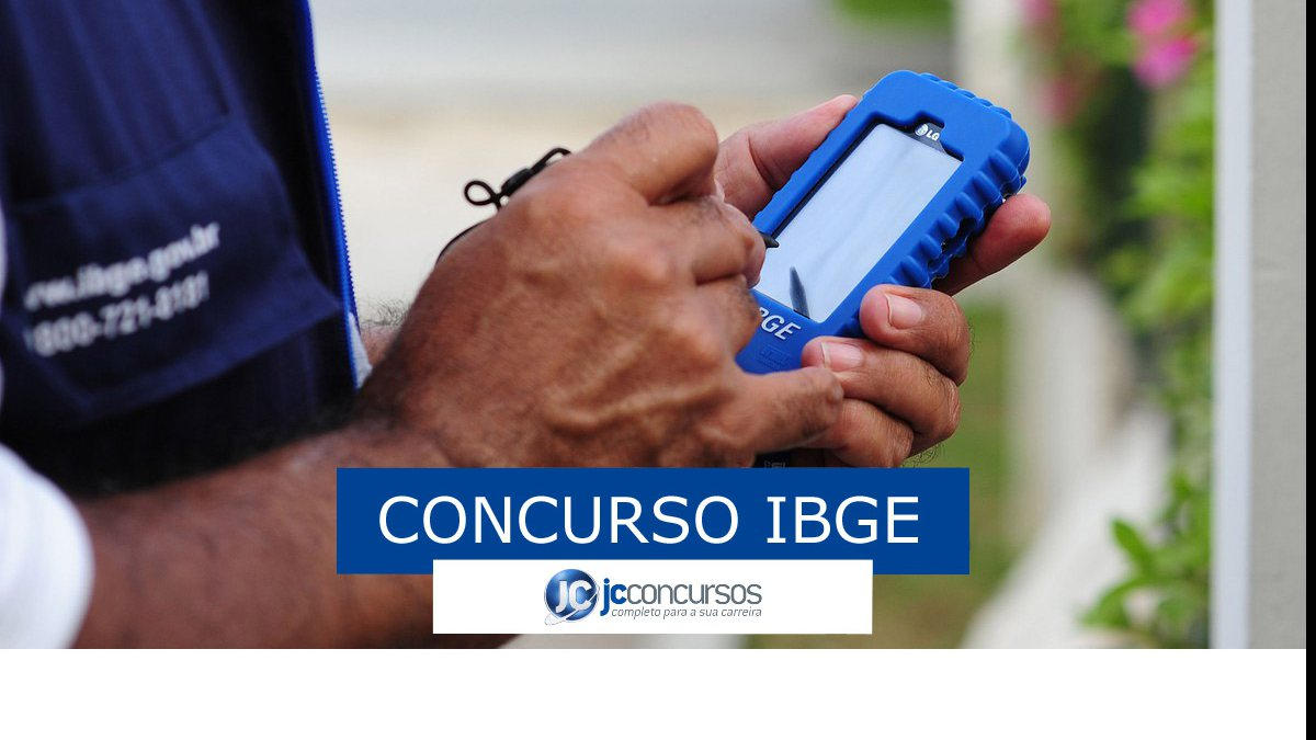 Concurso IBGE: recenseador do IBGE