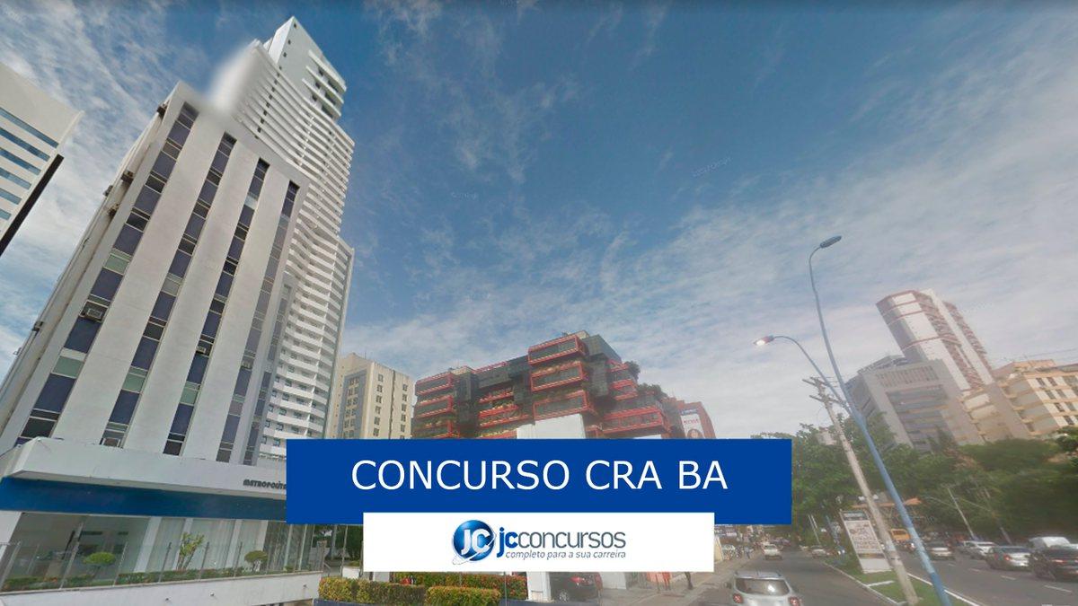 Concurso CRA BA - sede do órgão