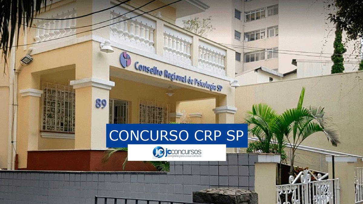 Concurso CRP SP: sede do CRP SP