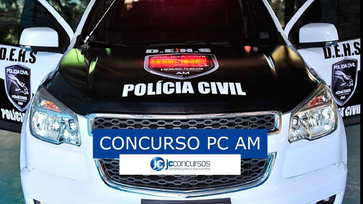 Concurso PC AM: viatura policial