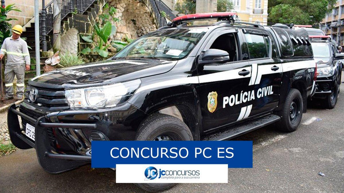 Concurso PC ES: viatura da PC ES