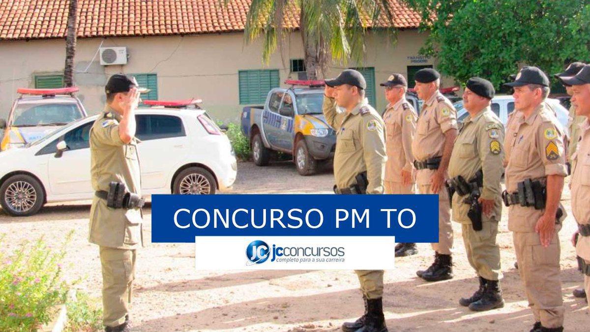Concurso PM TO: soldados da PM TO