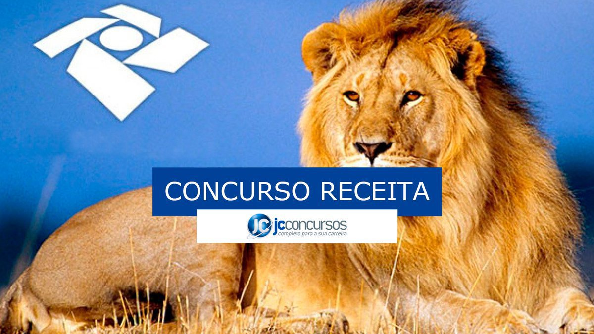 Concurso Receita Federal: leão da receita