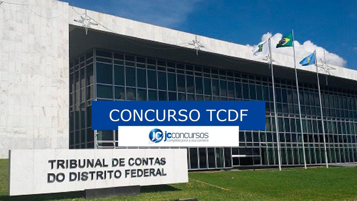 Concurso TCDF: fachada do órgão