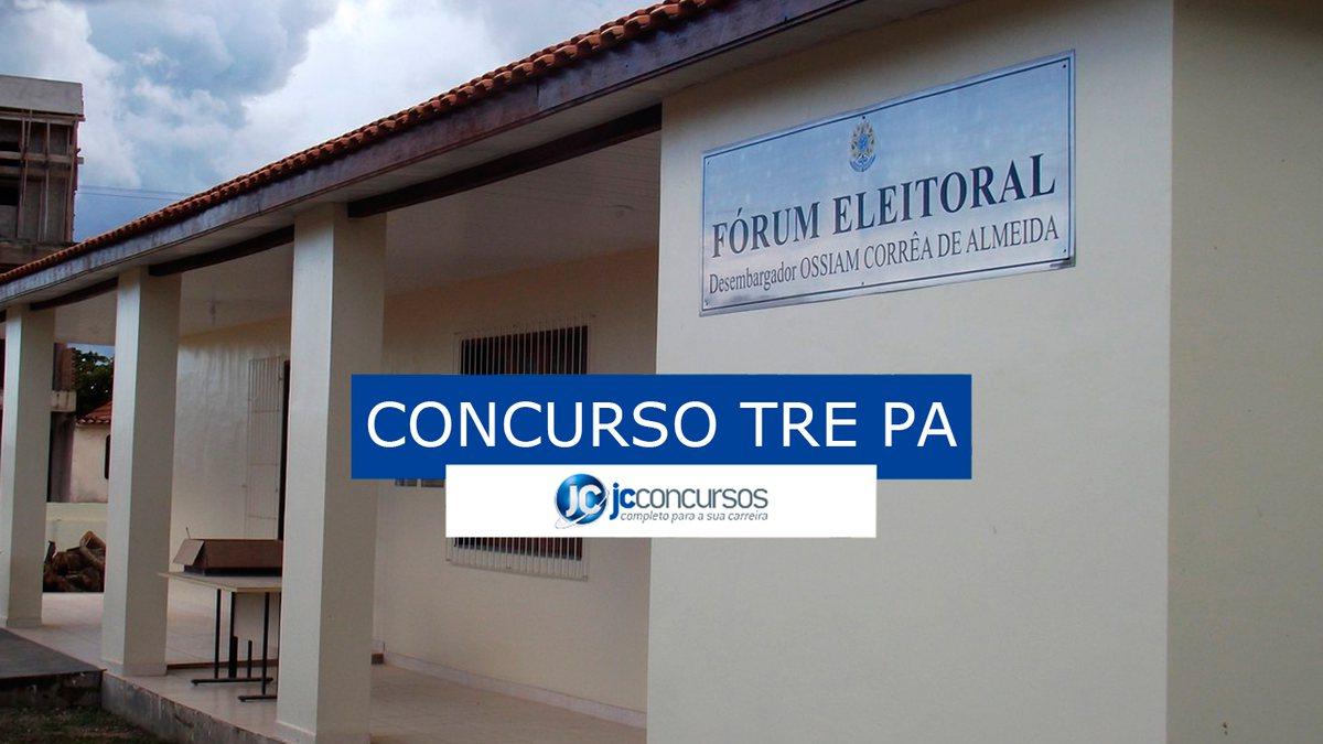 Concurso TRE PA: fórum eleitoral