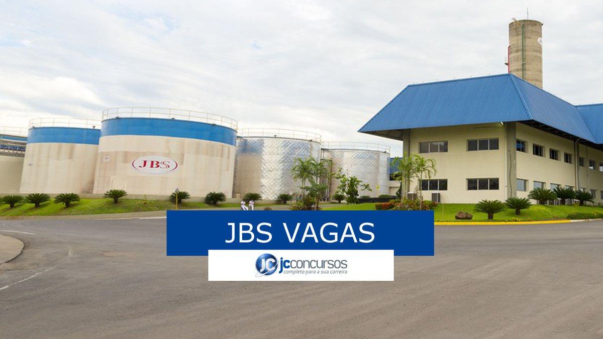 JBS oferece 51 vagas de emprego em diversos cargos