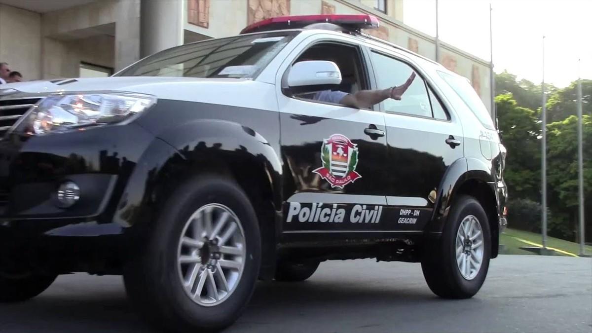 Viatura da Polícia Civil do Estado de São Paulo
