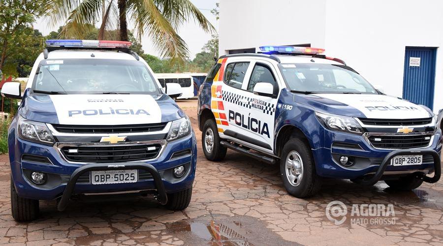 Concurso PM MT: viatura da polícia