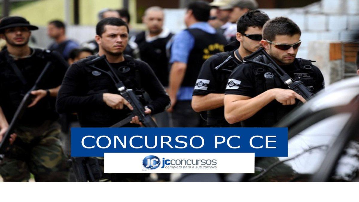 Concurso PC CE: soldados da PC CE
