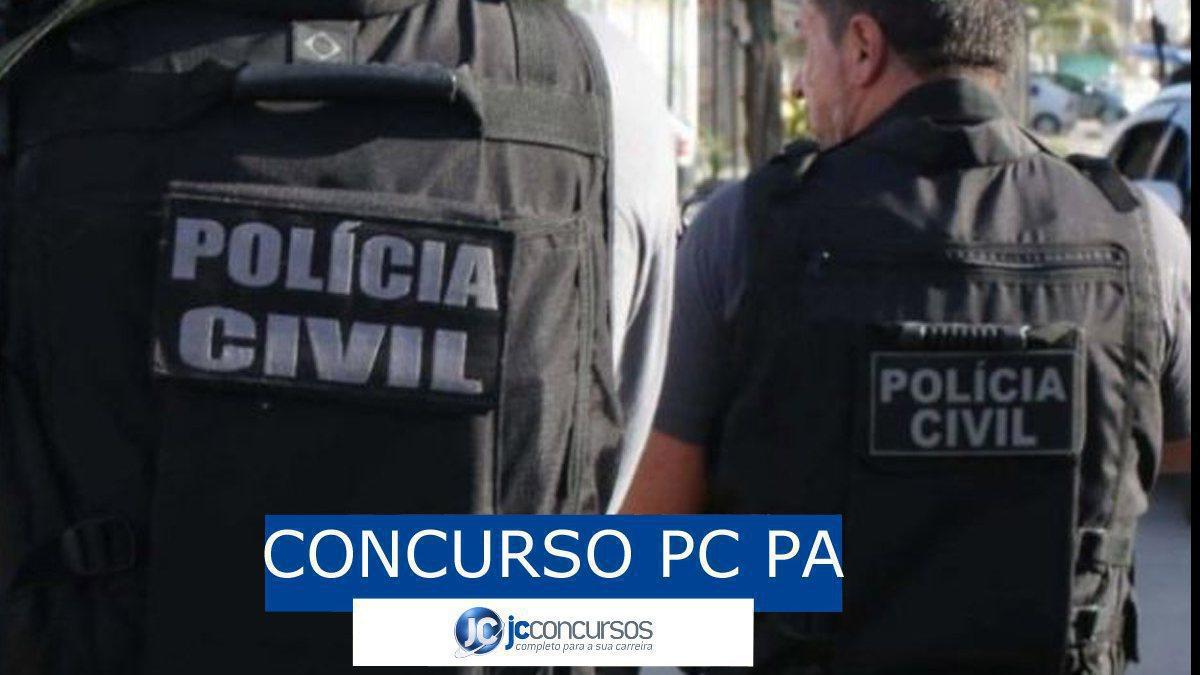 Concurso PC PA: polilciais da PC PA