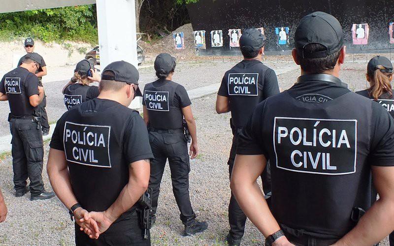 Policiais da Polícia Civil