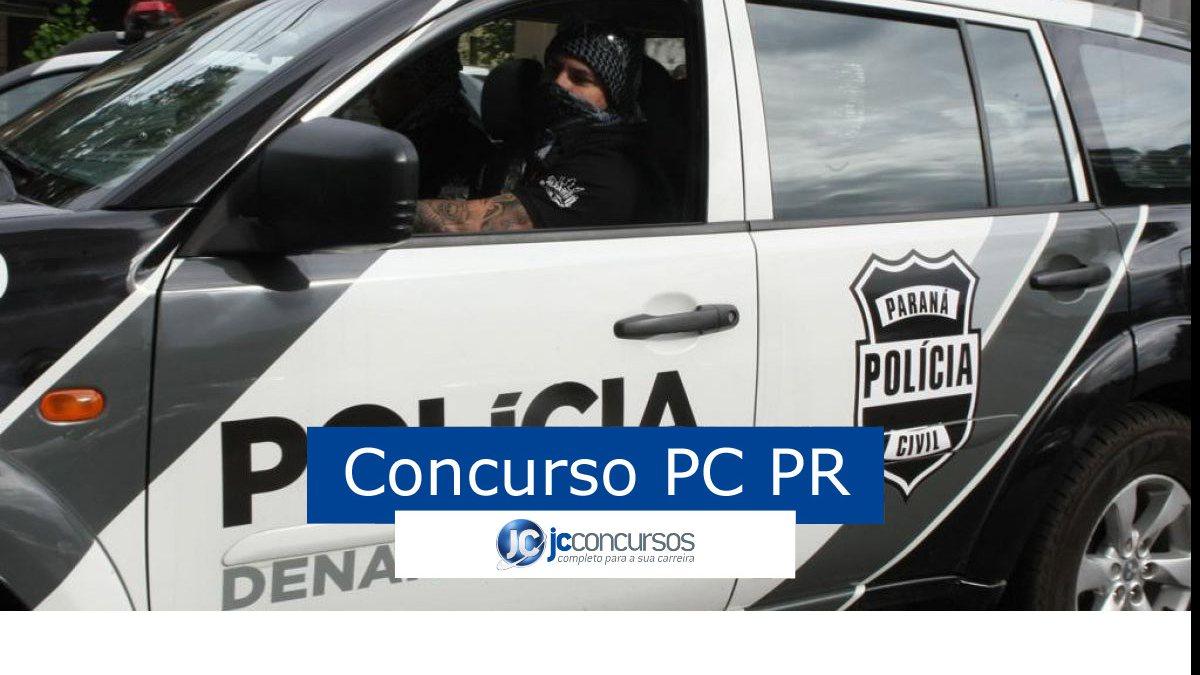 Concurso PC PR: viatura da PC PR