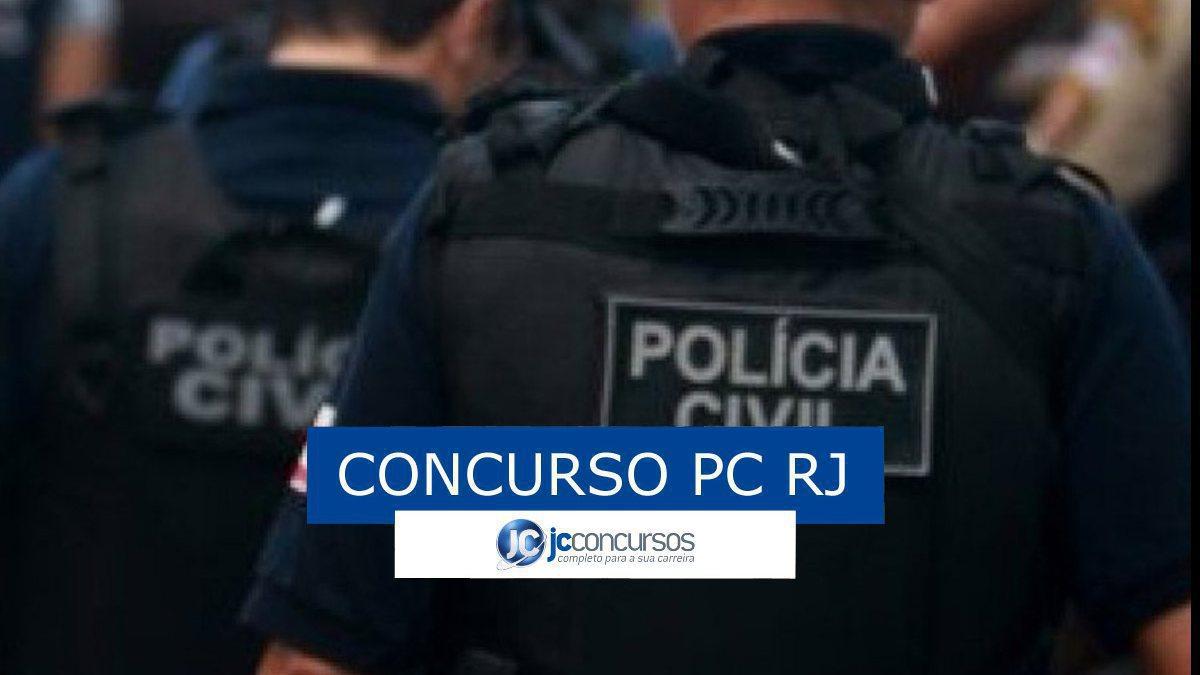 Concurso PC RJ: policiais da PC RJ