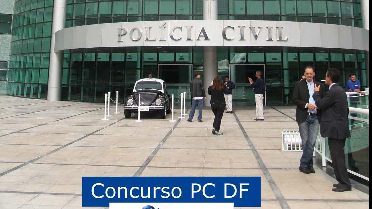 Concurso PC DF: viatura da Polícia Civil