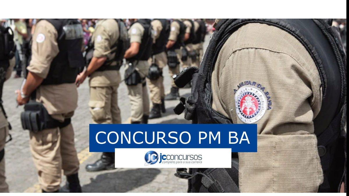 Concurso PM BA - Soldado