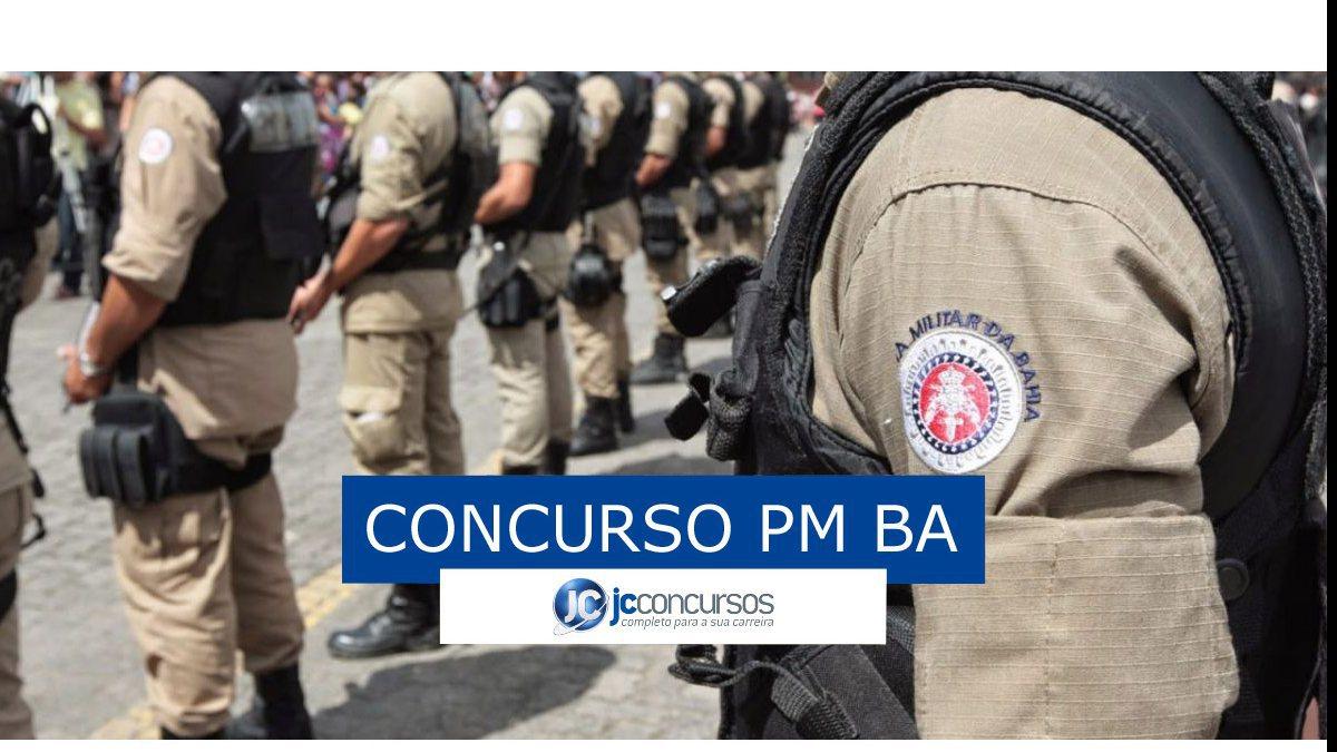 Concurso PM BA - Soldado da PM BA