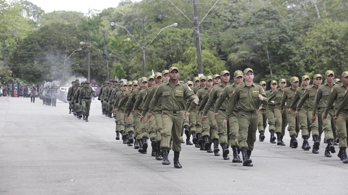 Concurso PM PA - Soldados da Polícia Militar do Pará