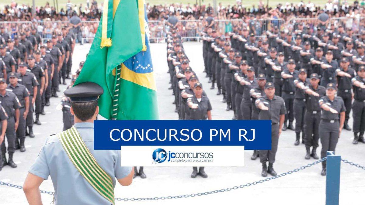 concurso PM RJ: soldados da PM RJ