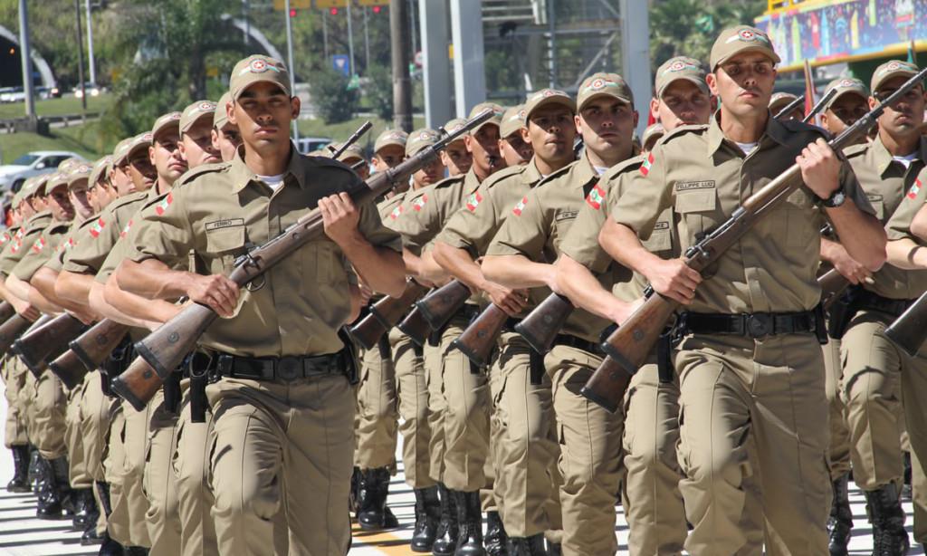 Concurso PM SP - batalhão de Soldado em Santa Catarina