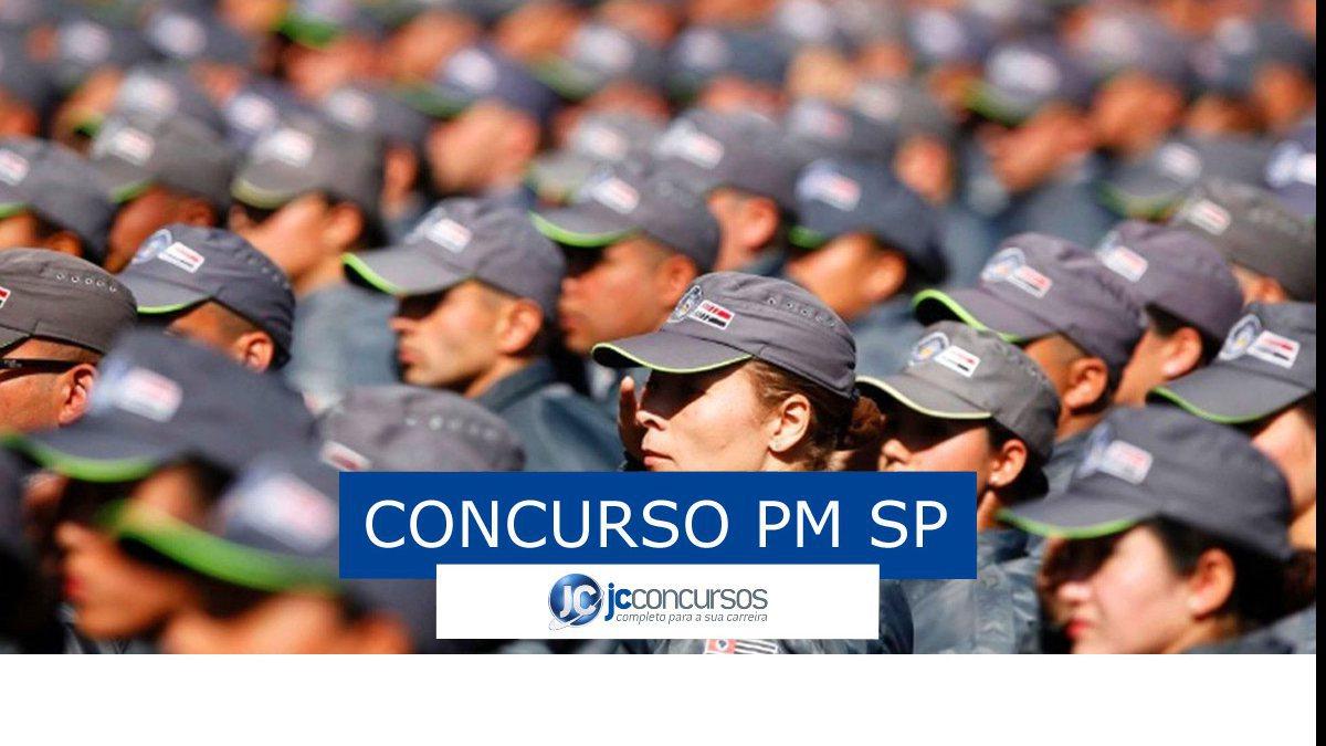 Concurso PM SP: soldados da PM SP