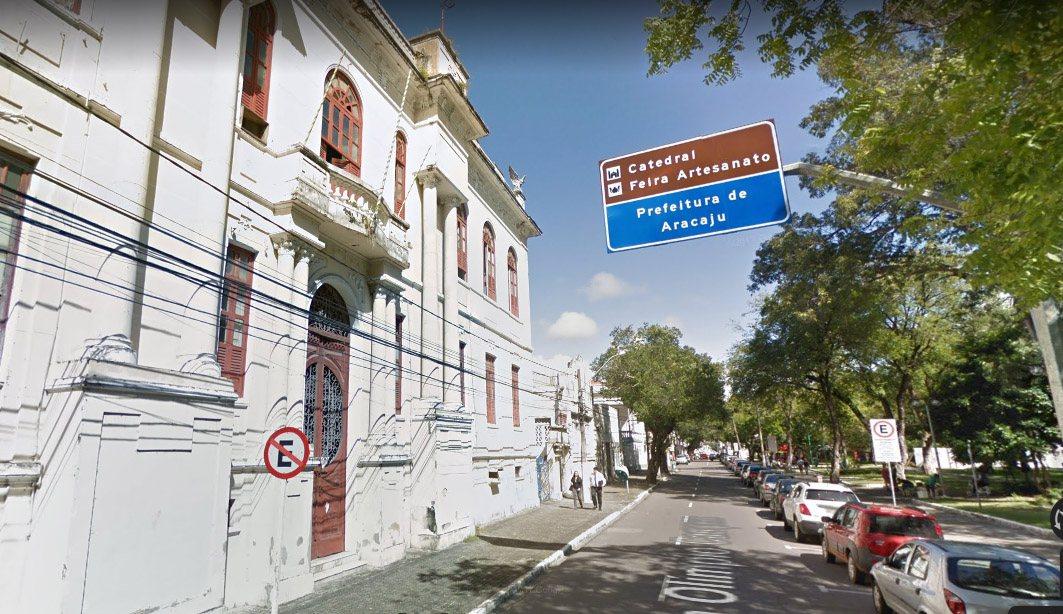 Concurso Aracaju SE : sede da prefeitura de Aracaju SE